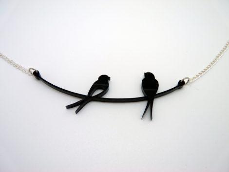 collier oiseaux