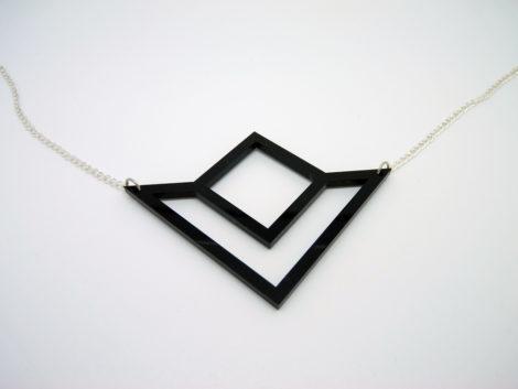 collier géométrique